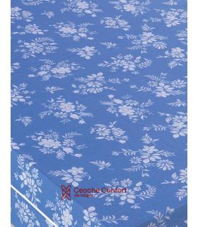 Funda colchón flor tergal