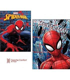 Manta de coralina Spiderman