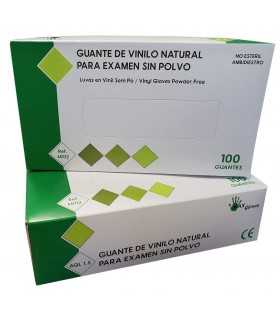 Guantes de Vinilo (estuche...